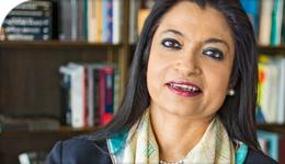 Photo of Professor Ananya Mukherjee-Reed, Dean, Faculty of Liberal Arts & Professional Studies   2018-07-17